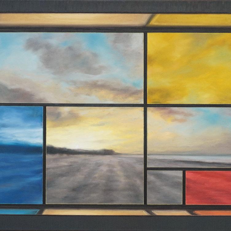 Piet´s Window III, 2021, 60x80cm, Öl auf Lw copy